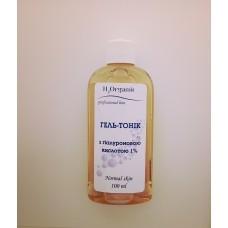 Тоник-гель с  гиалуроновай кислотой