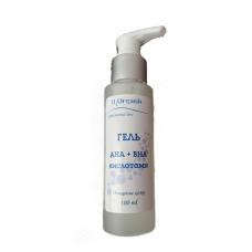 Гель AHA-BHA кислоты, для умывания, H2organic, 100ml
