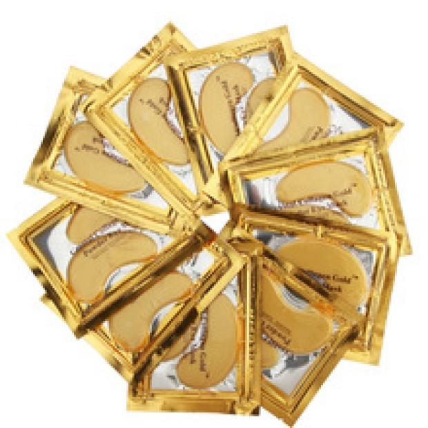 Маска для глаз.  Золотой Кристалл Коллаген.